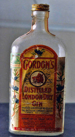 distilled london dry gin