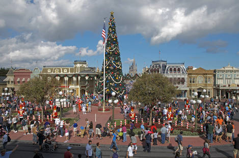 Christmas at Disney World 2011