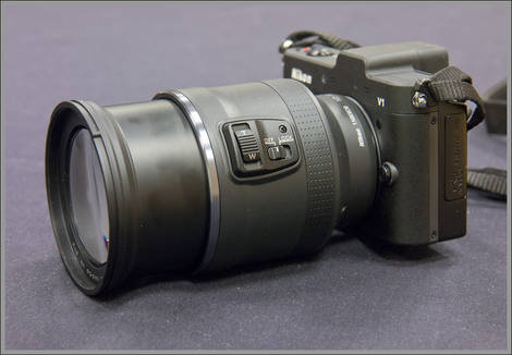 Nikon 1 System 10-100mm VR Power Zoom Lens