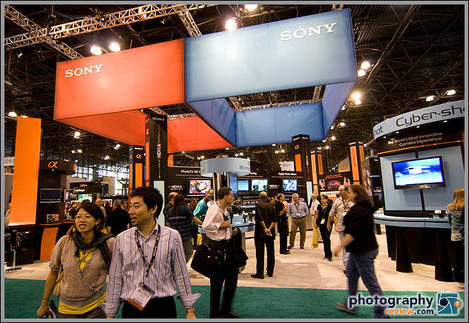 Sony Booth - PhotoPlus Expo 2007
