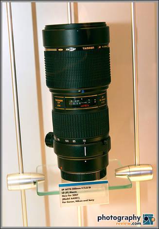 Tamron SP AF70-200mm f/2.8 Di LD Macro Zoom Lens