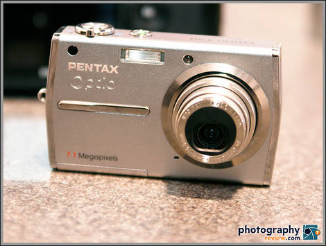 Pentax Optio T30 Digital Camera