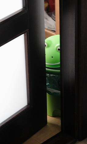 someone in the room next door