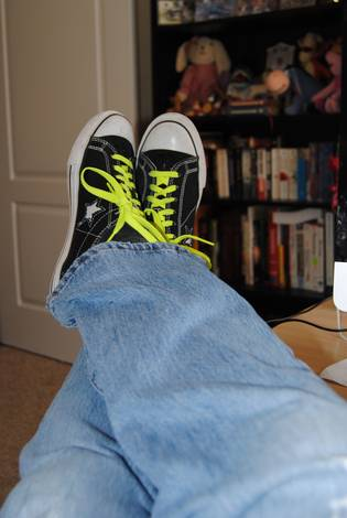 Cooling my heels....