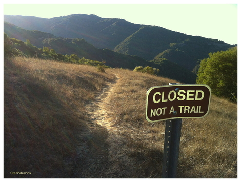 Trail...or not
