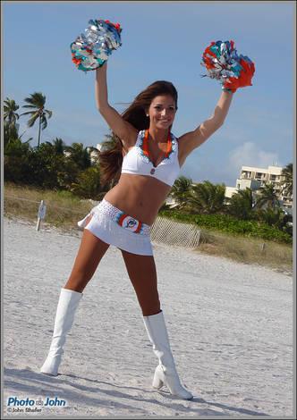 Miami Dolphins Dancer - Panasonic Lumix ZS3 Sample