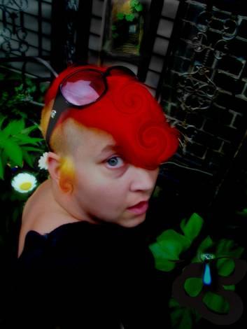 Infrared In A Garden