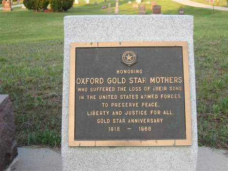 Oxford Gold Star Mothers