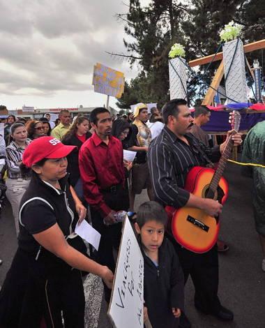 Peaceful Procession