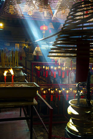 Inside Chinese temple 2