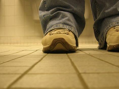 The feet: