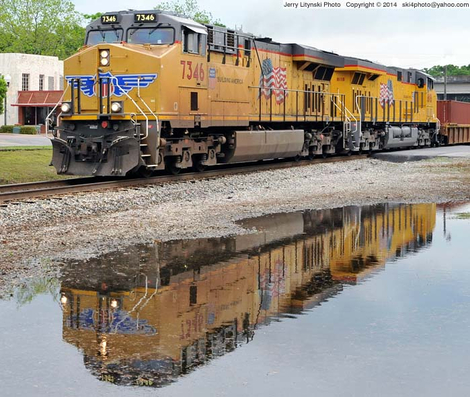 Union Pacific [UP] Engine No. 7346