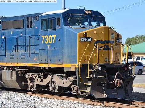 CSX Engine No. 7307