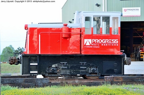 A real small locomotive