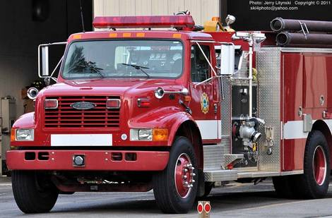 Fire-engine red