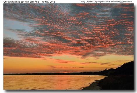 Sunset circa 10 Nov 2013