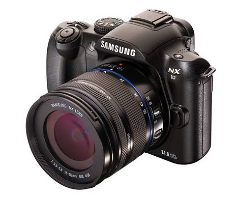 Samsung Officially Launches NX10 'Hybrid DSLR' (Challenge to MFT)