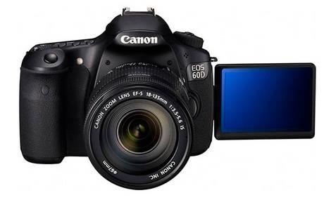 New Canon EOS 60D