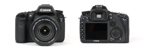 Canon EOS 7D Digital SLR - Front & Back