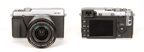Fujifilm X-E1 - Front & Back