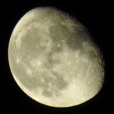 Canon SX700HS test - moon