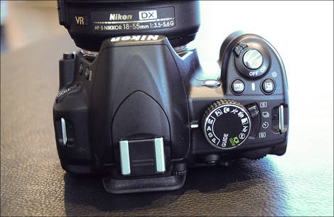 Nikon D3100 - Top and Controls