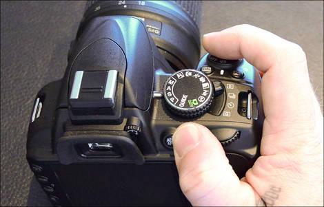Nikon D3100 - Controls