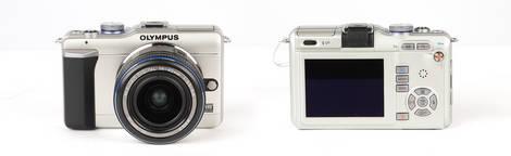 Olympus E-PL1 Digital Pen Camera - Front & Back