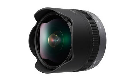 New Panasonic 8mm Fisheye Lens