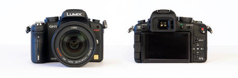 Panasonic Lumix GH1 - Front & Back