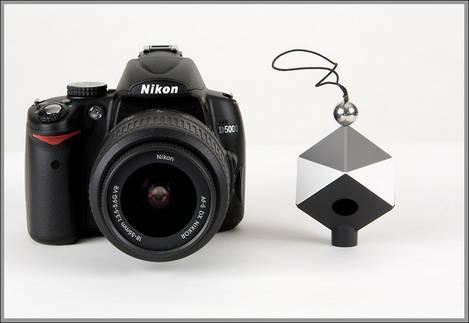 SpyderCube & Nikon D5000