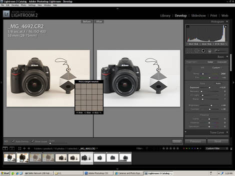 SpyderCube & Lightroom - Studio