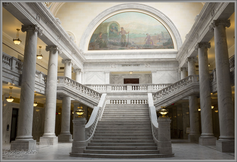 Fujifilm X100S - Inside the Utah State Capitol