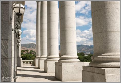 Fujifilm X100S - Utah State Capitol Columns
