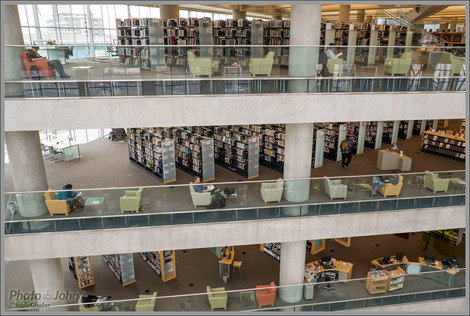 Book Stacks - Salt Lake City Public Library