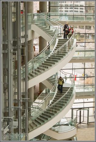 Staircase - Salt Lake City Public Library