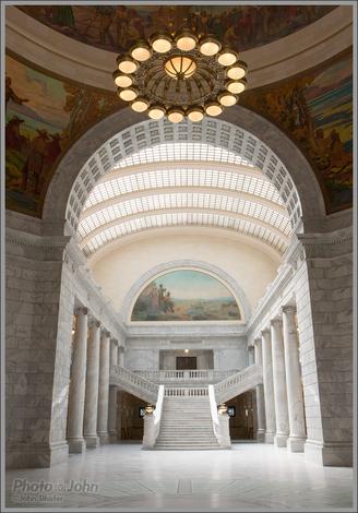 Utah State Capitol Building Interior - Canon EOS 70D