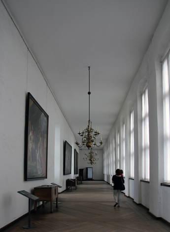 Corridor Kronborg Castle (Shakespeare's Ellsinore )