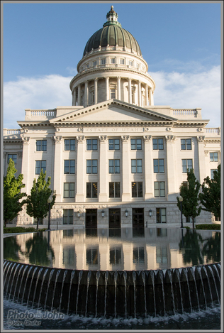 Reflection - Utah State Capitol Building