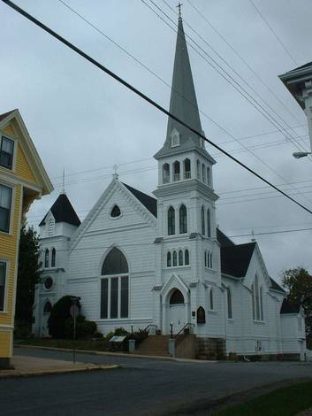 Lunenburg Nova Scotia church