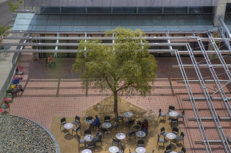The Patio at the San Diego Library