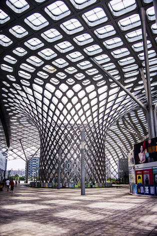 Shenzhen bay sports center,China