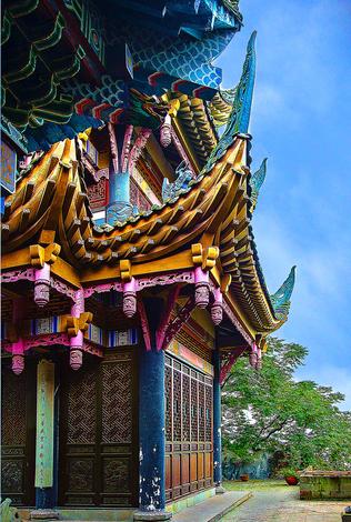 Acient Buddhist temple,China