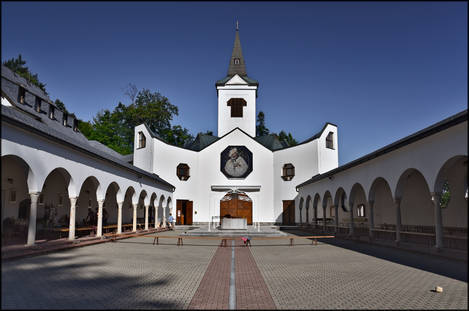 Church in Zlate Hory (Moravia)