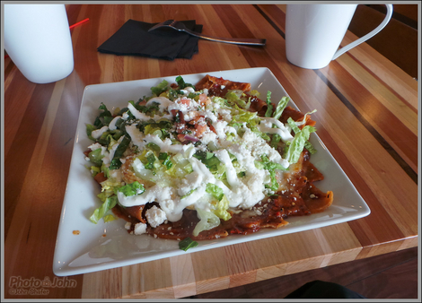Chilaquiles & Eggs