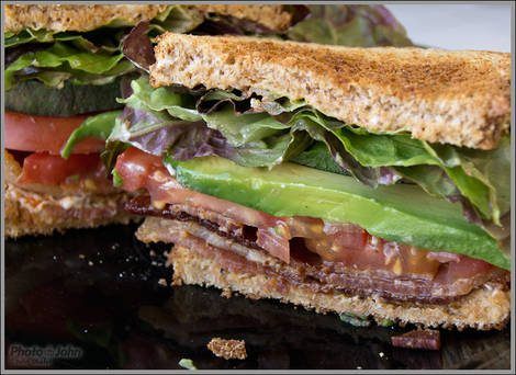 BLT Sandwich Test - Sony Alpha SLT-A55