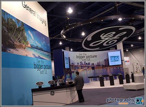 GE Cameras Booth
