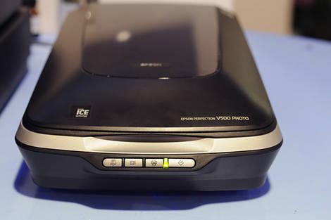 Midrange Epson film scanner