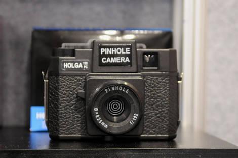 Holga 120 pinhole camera