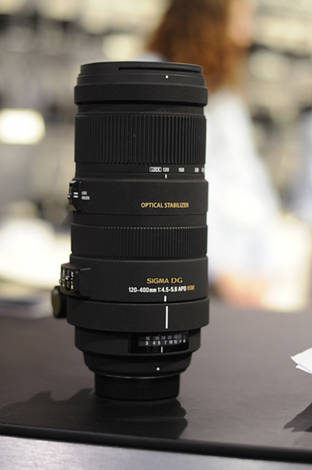 The new Sigma 120-400